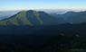 夏の朝日を受ける仙丈ケ岳のサムネイル