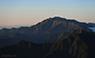 夕陽を受ける仙丈ケ岳のサムネイル