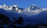 Mount Everest and Lhotse